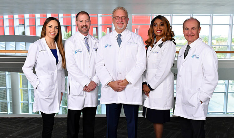 Surgeons from Central Florida Vein and Vascular Center.