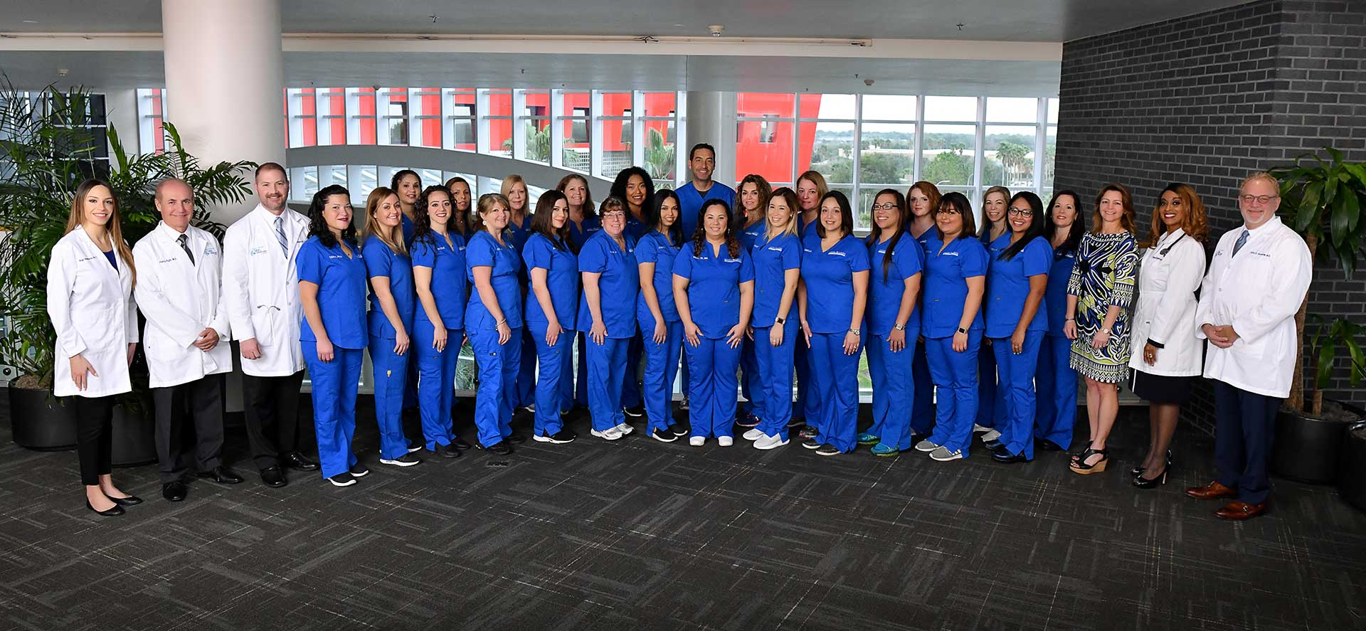Expert medical staff with nurses, doctors and surgeons from Central Florida Vein & Vascular.